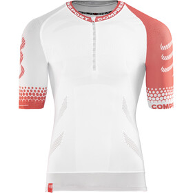 Compressport Trail Running SS Shirt white
